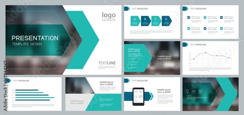 Business Presentation | Design Template For Business Presentation And Page Layout For
