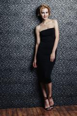 slender elegant woman