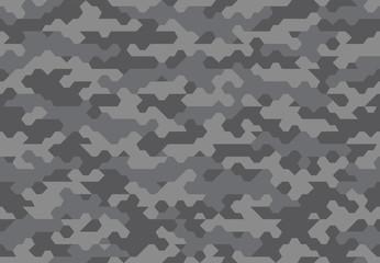 seamless printable futuristic camouflage pattern
