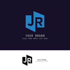 letter J R logo