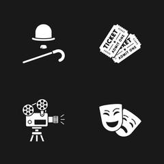 four cinema icons