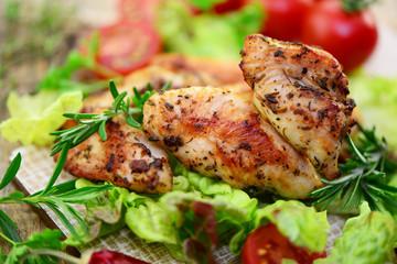 Fleisch Salat