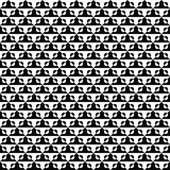 Vector seamless geometric pattern. Abstract texture. Black-and-white background. Monochrome design. Vector EPS10