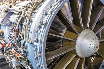 Aviation turbojet engine equipment