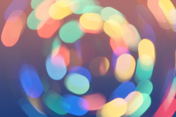 bokeh lights background retro colorful whirl