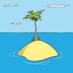 Lonely Island Cartoon