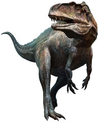 Wall Mural - Acrocanthosaurus