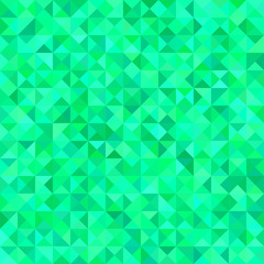 Abstract triangle tile mosaic background - vector graphic