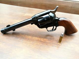 Handfeuerwaffe mit Patrone