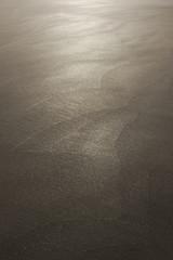 Hintergrund Sand perfekter Sandstrand im Gegenlicht - Background Sand perfect sand beach in the backlight