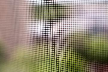 Mosquito net.