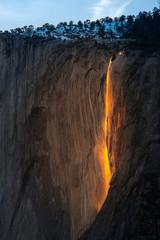 Fire Falls in Febuary at Yosemite