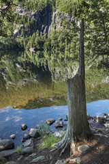 Chapel Pond in the Adirondack Mountains of New York State