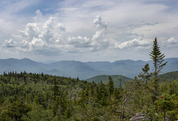 Adirondack Mountain View from Nun-Da-Ga-O Ridge