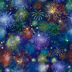 fireworks (fireworks, japan, background).High-resolution seamless texture