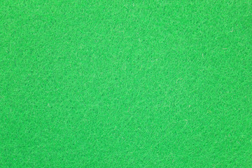 Green surface of Microfiber cloth.