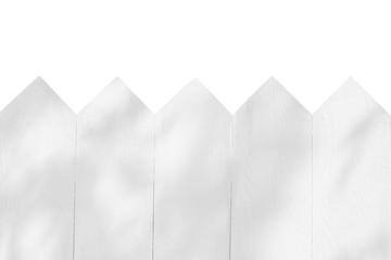 fence wood isolated on white background.