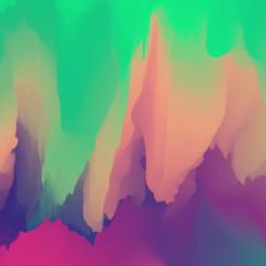 Abstract Vector Illustration. Modern Pattern.