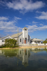 Bahamas, Abaco Islands, Green Turtle Cay, New Plymouth, St Peter's Church