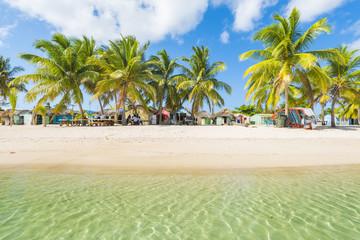 Mano Juan, Saona Island, East National Park (Parque Nacional del Este), Dominican Republic, Caribbean Sea.