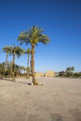 Egypt, Luxor, Entrance to Karnak Temple