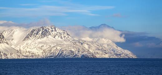 Fjords near Hammerfest, Norway