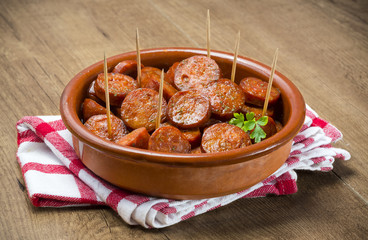 Chorizo,tapa