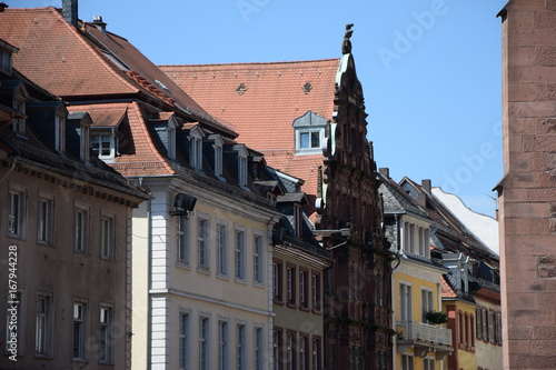 Hausfassaden In Heidelberg Stock Photo And Royalty Free Images On