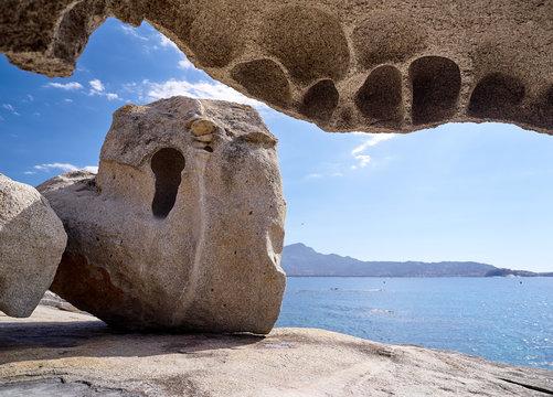 Rocks in Lumio near Calvi, Corsica