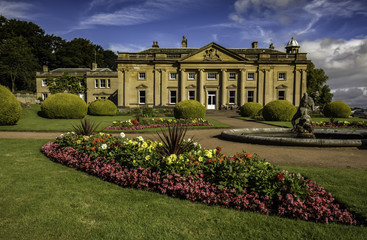 Wortley hall wedding venue in Summer