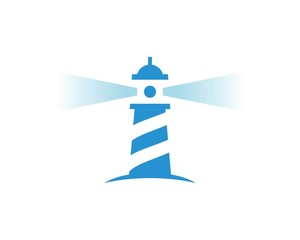 lighthouse vector logo