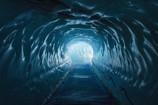 Ice cave Mer de Glace