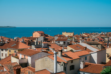 Rooftops of Piran City