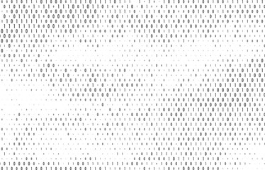 Binary code vector background.
