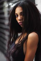 Portrait of a caraibic model