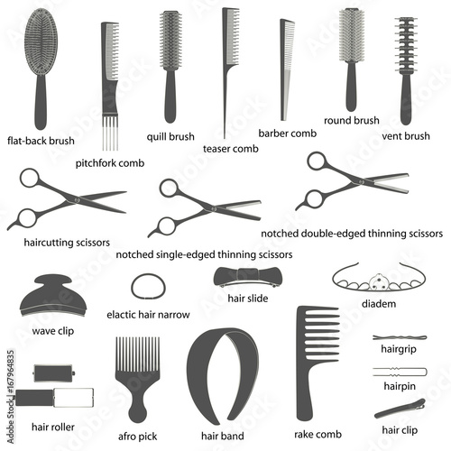 Hair Cutting Tools List