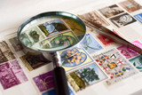 Raccolta di francobolli postali