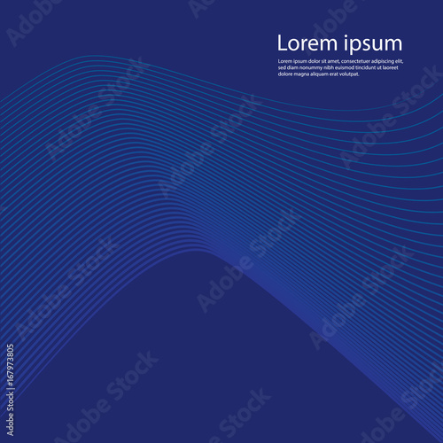 Abstract Wavy Background For Banner Flyer Book Cover Poster Dynamic Effect