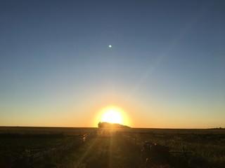 Закат или заход Солнца — момент исчезновения верхнего края светила под горизонтом. Понятие закат может относиться также ко всему процессу пересечения горизонта видимым диском светила.