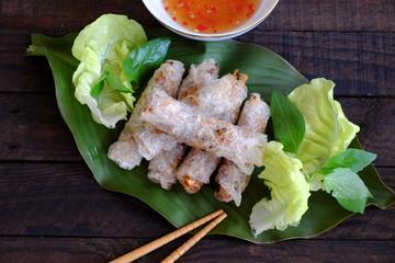 Vietnamese spring roll pastry