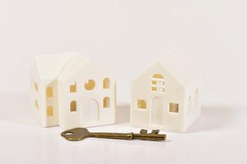 二件の家と鍵