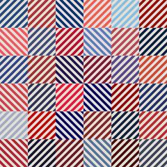 art geometric pattern, optical illusion chevron, vector usa color style fashion