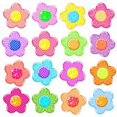 Sticker flower set