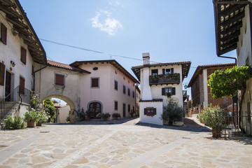 Village of Smartno, Goriska Brda, Slovenia.