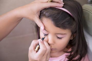 Girl and make up