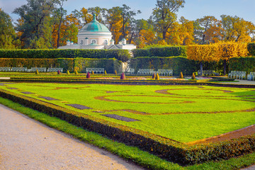 Catherine park in Pushkin (Former Tsarskoe Selo), St.Petersburg, Russia