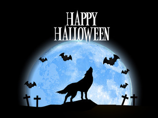 Creative abstract for Happy Halloween with nice and creative design illustration.
