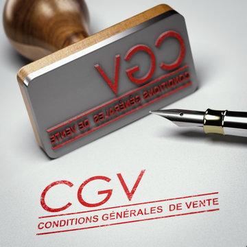 CGV, Conditions Générales de Vente