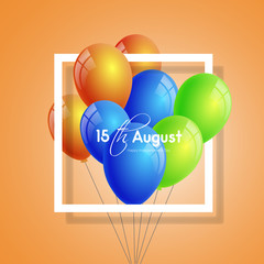 nice and beautiful vector abstract for 15th of August or Independence Day of India with nice and creative design illustration in background.