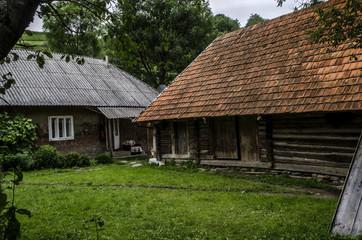 chaty Ukraina Zakarpacie